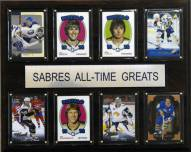 """Buffalo Sabres 12"""" x 15"""" All-Time Greats Plaque"""