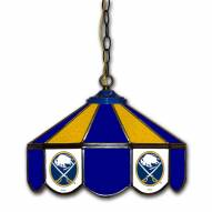 "Buffalo Sabres 14"" Glass Pub Lamp"
