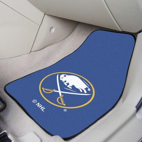Buffalo Sabres 2-Piece Carpet Car Mats