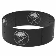 """Buffalo Sabres 36"""" Round Steel Fire Ring"""
