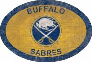 "Buffalo Sabres 46"" Team Color Oval Sign"