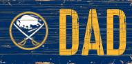 "Buffalo Sabres 6"" x 12"" Dad Sign"