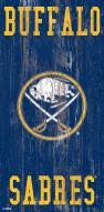 "Buffalo Sabres 6"" x 12"" Heritage Logo Sign"
