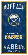 "Buffalo Sabres  6"" x 12"" Heritage Sign"