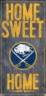 "Buffalo Sabres 6"" x 12"" Home Sweet Home Sign"