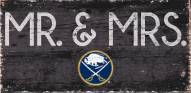 "Buffalo Sabres 6"" x 12"" Mr. & Mrs. Sign"