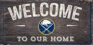 "Buffalo Sabres 6"" x 12"" Welcome Sign"