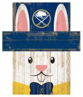 "Buffalo Sabres 6"" x 5"" Easter Bunny Head"