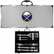 Buffalo Sabres 8 Piece Stainless Steel BBQ Set w/Metal Case