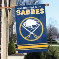 Buffalo Sabres Applique Banner Flag