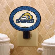 Buffalo Sabres Art Glass Night Light