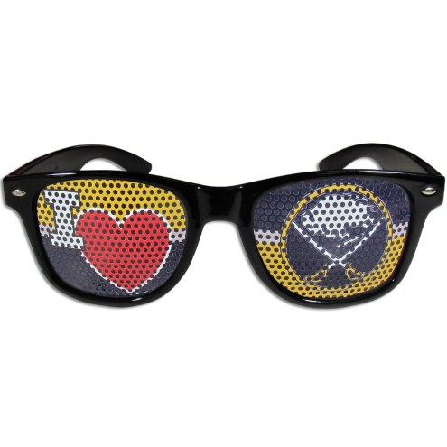 Buffalo Sabres Black I Heart Game Day Shades