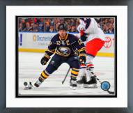 Buffalo Sabres Brian Gionta Action Framed Photo