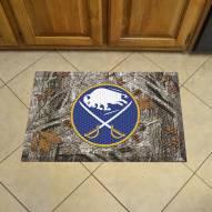 Buffalo Sabres Camo Scraper Door Mat