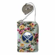 Buffalo Sabres Canvas Floral Smart Purse