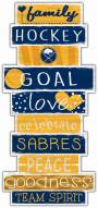Buffalo Sabres Celebrations Stack Sign
