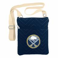 Buffalo Sabres Chevron Stitch Crossbody Bag