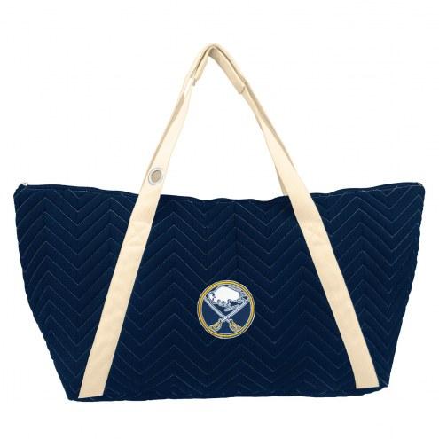 Buffalo Sabres Chevron Stitch Weekender Bag