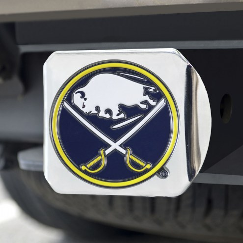 Buffalo Sabres Chrome Color Hitch Cover
