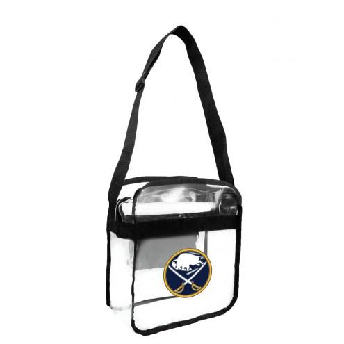 Buffalo Sabres Clear Crossbody Carry-All Bag