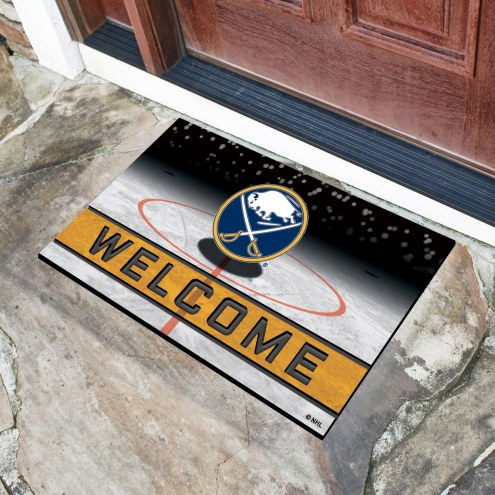 Buffalo Sabres Crumb Rubber Door Mat
