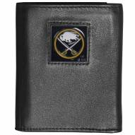 Buffalo Sabres Deluxe Leather Tri-fold Wallet