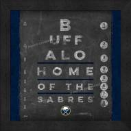 Buffalo Sabres Eye Chart
