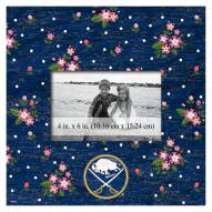 """Buffalo Sabres  Floral 10"""" x 10"""" Picture Frame"""