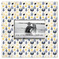"""Buffalo Sabres  Floral Pattern 10"""" x 10"""" Picture Frame"""