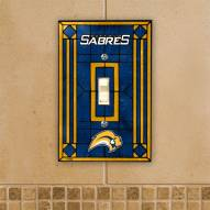 Buffalo Sabres Glass Single Light Switch Plate Cover