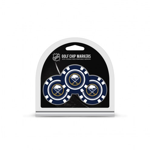 Buffalo Sabres Golf Chip Ball Markers