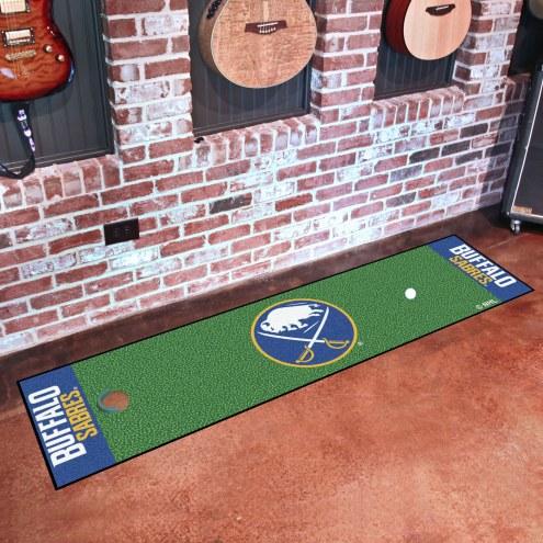 Buffalo Sabres Golf Putting Green Mat