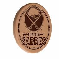 Buffalo Sabres Laser Engraved Wood Sign