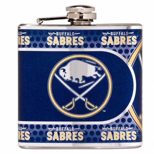 Buffalo Sabres Hi-Def Stainless Steel Flask