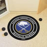 Buffalo Sabres Hockey Puck Mat