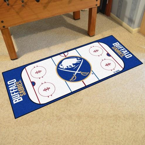Buffalo Sabres Hockey Rink Runner Mat