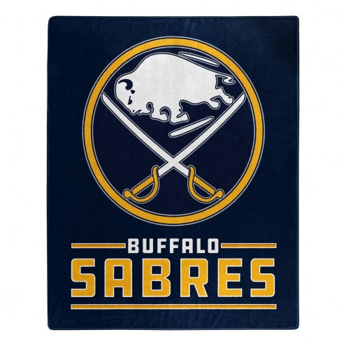 Buffalo Sabres Interference Raschel Blanket