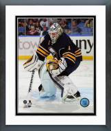Buffalo Sabres Jhonas Enroth Action Framed Photo