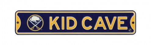 Buffalo Sabres Kid Cave Street Sign