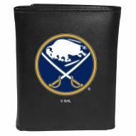 Buffalo Sabres Large Logo Leather Tri-fold Wallet