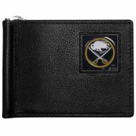 Buffalo Sabres Leather Bill Clip Wallet