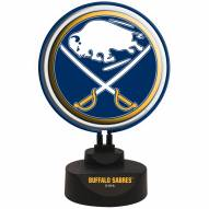 Buffalo Sabres Team Logo Neon Light