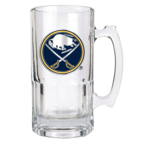 Buffalo Sabres NHL 1 Liter Glass Macho Mug