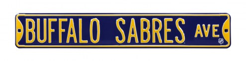 Buffalo Sabres NHL Authentic Street Sign