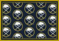 Buffalo Sabres NHL Repeat Area Rug