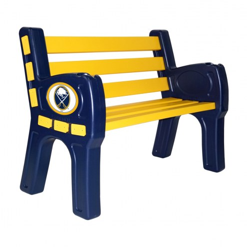 Buffalo Sabres Park Bench