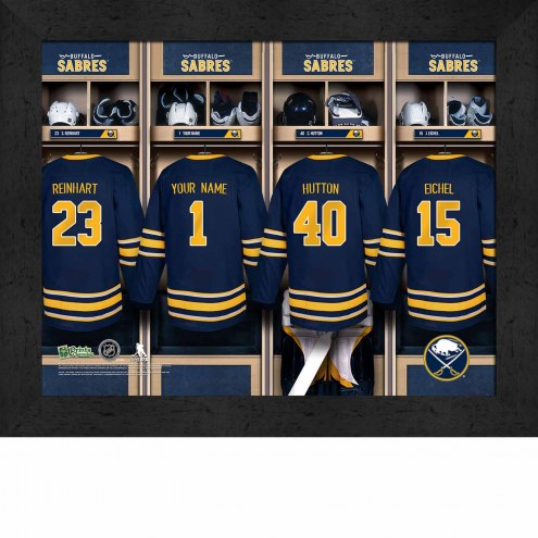 Buffalo Sabres Personalized 11 x 14 Framed Photograph