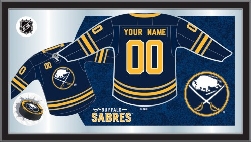 Buffalo Sabres Personalized Jersey Mirror