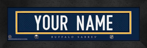 Buffalo Sabres Personalized Stitched Jersey Print