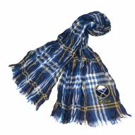 Buffalo Sabres Plaid Crinkle Scarf